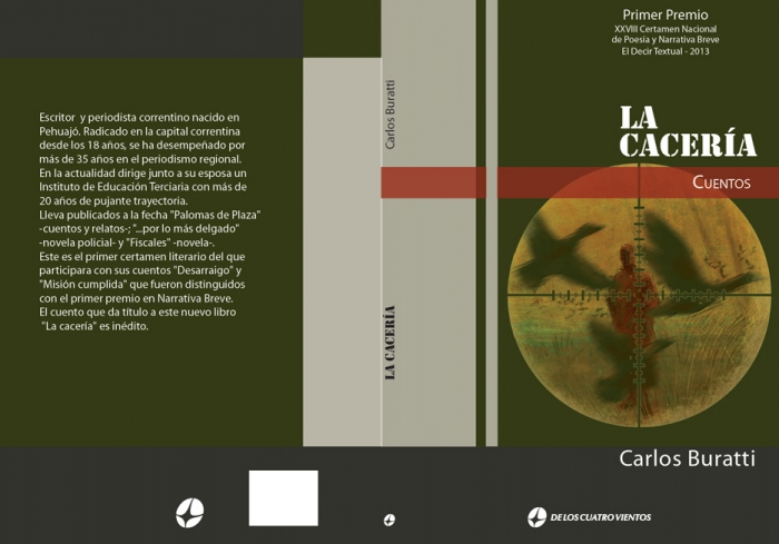 la-caceria_book-cover_design